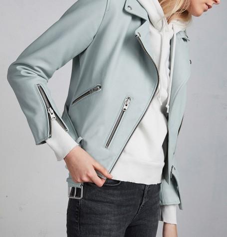 Кожаная куртка BALFERN LEATHER BIKER