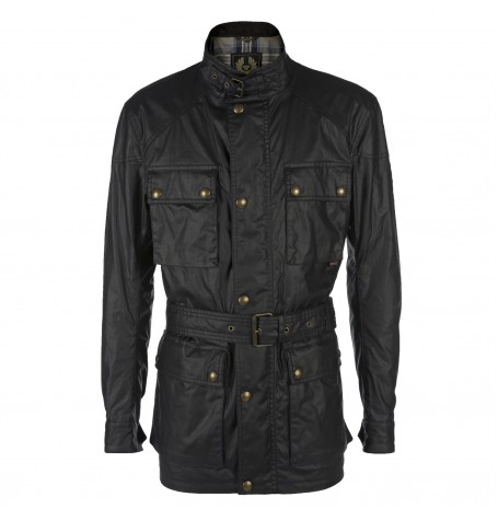 Куртка с ремнём