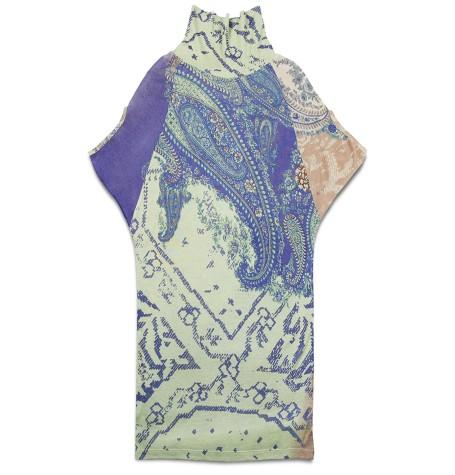 Шёлк/кашемир платье хюгге
