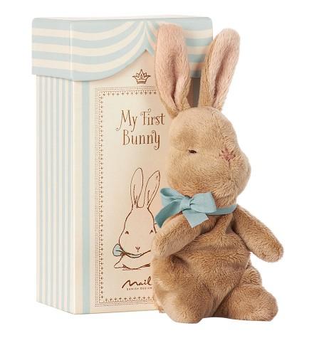 Мой первый заяц в коробке, голубой