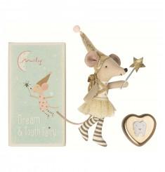 Мышка Зубная фея со шкатулкой для первого зубика, девочка