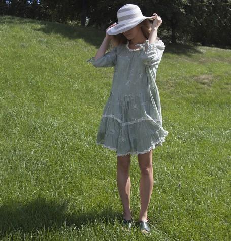 100% хлопок, платье Бохо, Испания