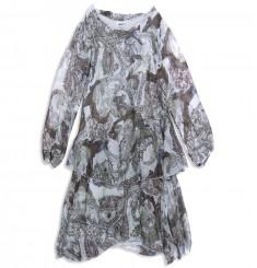Платье огурцы