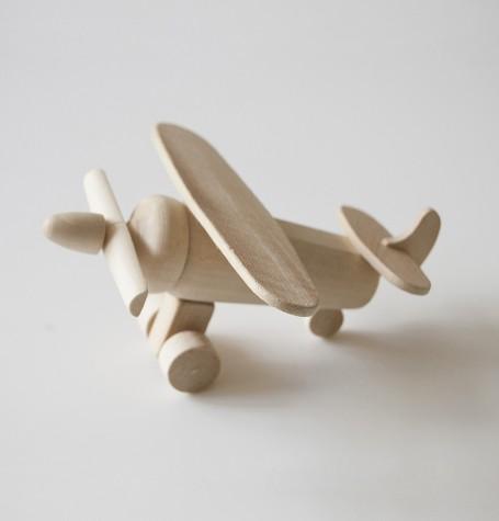 Самолёт деревянный