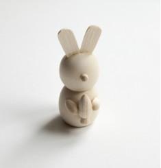 Кролик деревянный