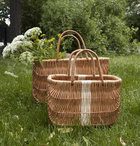 Плетеная корзинка для хюгге-настроения малая