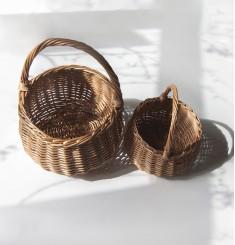 Набор плетеных корзин для хюгге-настроения (мини)